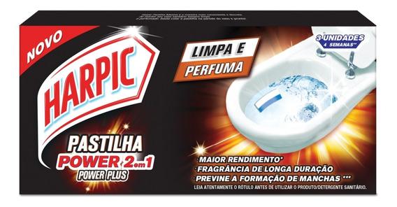 Harpic Pastilha Adesiva 2em1 Power Plus