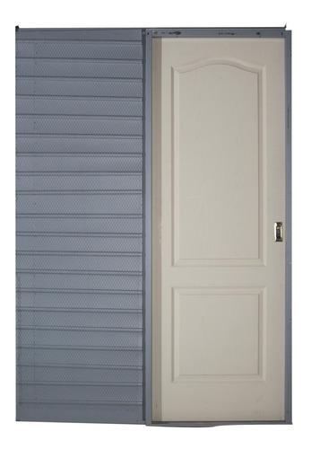 Puerta Corrediza Embutir Craftmaster Blanca 0.60x2.00 Tab 10