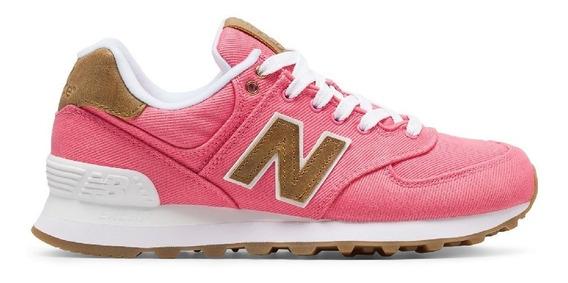 Zapatillas New Balance Wl574 Lifestyle Mujer Ultimo Par Sale