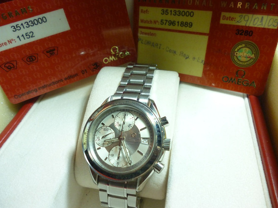 Relógio Omega, Modelo Speed Master, Novo, Estoque Antigo