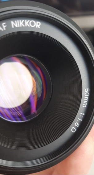 Lente Nikon 50mm F/1.8d Af Fx