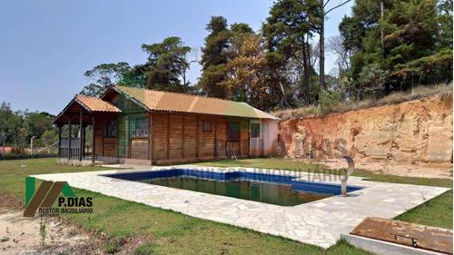 Chácara Muito Bem Localizada, Ideal Para Quem Busca Tranqüilidade Na Região Do Circuito Das Águas. - Ch0292