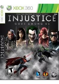 Injustice: Gods Among - Mídia Digital - Xbox 360 - Ltf Games