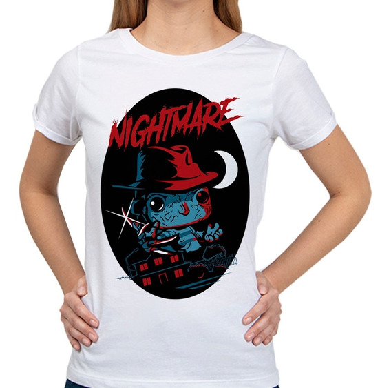 Blusa Halloween Freddy Krueger | Mujer Halloween