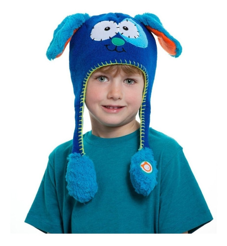 ¡ Sombrero Divertido Gorro Hat Flipper Puppy Mascota Azul !!