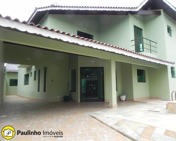 Casa Com Piscina Para Locação Definitiva Na Praia De Peruíbe - Ca03166 - 33868810