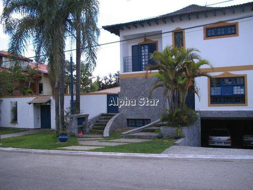 Imagem 1 de 3 de Casa Com 4 Dormitórios À Venda, 630 M² Por R$ 3.800.000,00 - Alphaville 06 - Santana De Parnaíba/sp - Ca3484