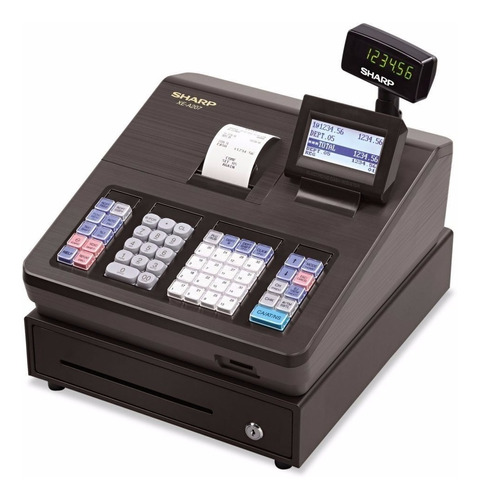 Sharp Xea207 Caja Registradora 2500 Plu Puerto Rs-232c