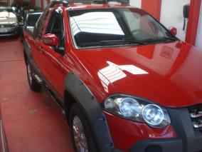 Fiat Strada 1.8 16v Adventure Locker Ce Flex 2p Vermelha 20