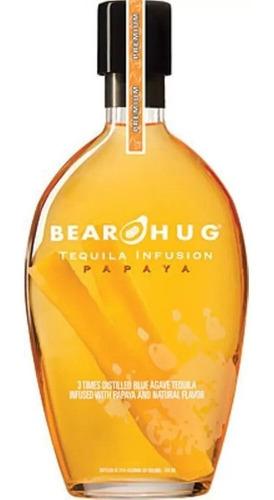 Imagen 1 de 4 de Tequila Bear Hug Infusion Papaya 1000ml