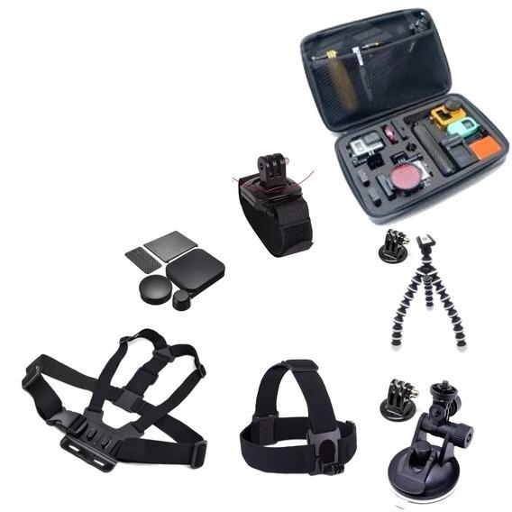 Kit Acessórios Gopro Hero 3 3+ 4 Case Impermeável Grande