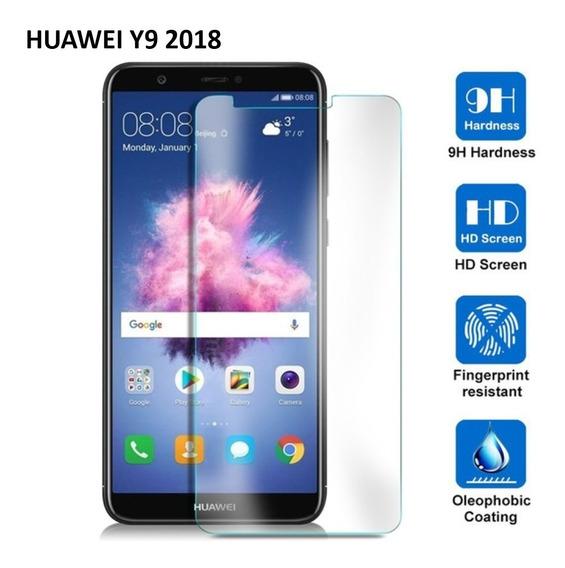 Cristal Templado Mica Contra Golpes Huawei Y9 2018