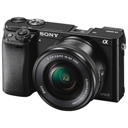 Câmera Mirrorless Sony Alpha A6000 Com Lente 16-50mm