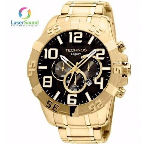 Relógio Technos Masculino Os20im/4p, C/ Garantia E Nf