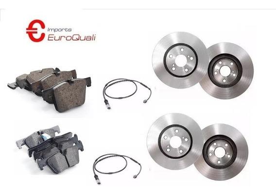 Discos Pastilhas Sensor Diant. - Tras. Bmw 320i 2.0 F30 2015