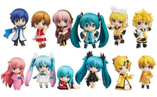 Nendoroid Set De 12 Figuras Vocaloid Hatsune Miku Envio Grat