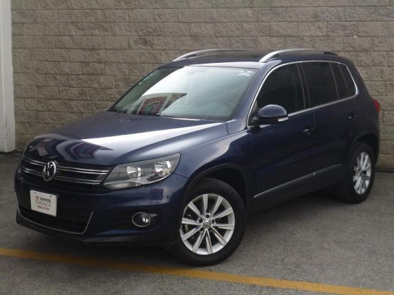 Volkswagen Tiguan 5p Track|fun L4/2.0/t Aut Nave Piel