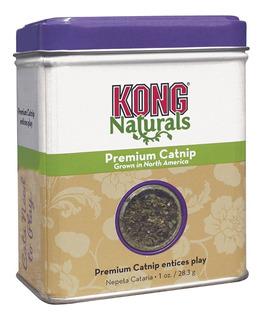 Kong Naturals Premium Catnip Hierba Gatera 1 Oz