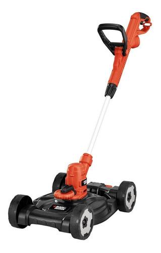 Imagen 1 de 5 de Desbrozadora de césped Black+Decker MTE912 800W color naranja y negro 120V-127V con accesorios