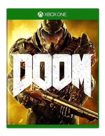 Doom Xbox One Mídia Física Pronta Entrega