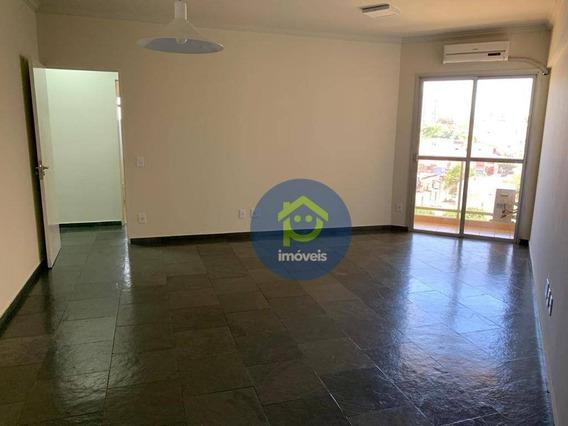 Apartamento Com 3 Dormitórios À Venda, 110 M² Por R$ 295.000 - Centro - São José Do Rio Preto/sp - Ap7394