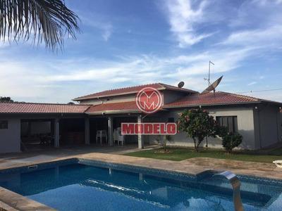 Chácara Com 3 Dormitórios Para Alugar, 75165 M² Por R$ 4.000/mês - Santa Rita - Piracicaba/sp - Ch0143