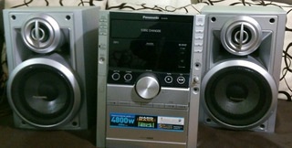 Equipo De Sonido Panasonic Excelente Con Dispositivo Bluetoo
