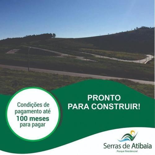 Terreno À Venda, 384 M² Por R$ 125.000,00 - Parque Residencial Serras De Atibaia 2 - Atibaia/sp - Te0027