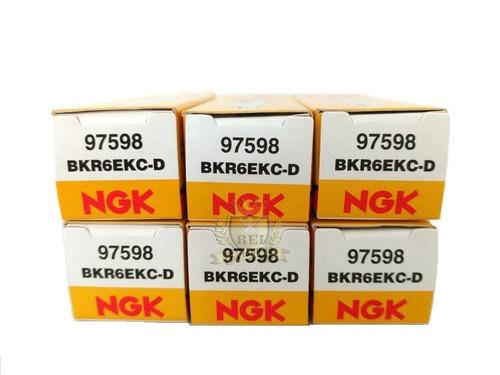 Imagem 1 de 5 de Jogo De Velas Ngk Xantia 3.0 V6 96 A 01 2 Eletrodos Bkr6ekc