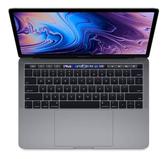 Macbook Pro Apple Space Gray 2.4ghz Qc 8gb 256gb Touch Bar