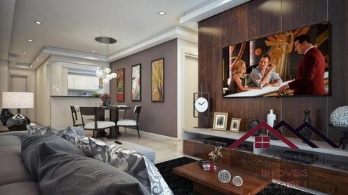 Apartamento De 2 Dormitórios Na Praia Grande - 3468