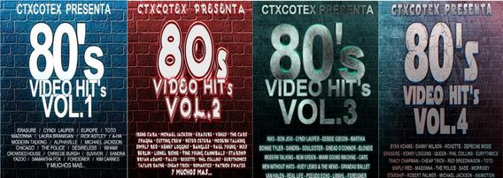 4 Dvds 80
