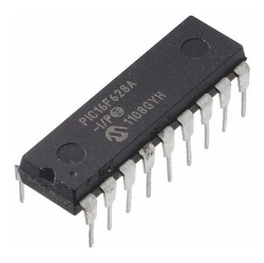 Pic16f628a I/p Microchip Pic 16f628a Mcu Usb Flash 18 Pines