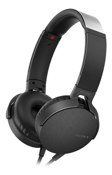 Audífonos Extra Bass Xb550ap Negro