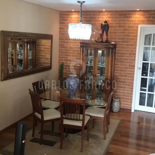 Imagem 1 de 15 de Vende Apartamento Na Chácara Santo Antonio Com 2 Suítes E Lazer Completo  - Cf70091