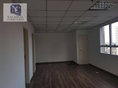 Sala Comercial Para Locação, Bairro Jardim, Santo André - Sa0066. - Sa0066
