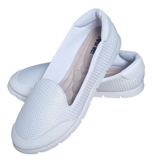 Promoção Slip On Tênis Sapato Feminino Enfermagem Estética