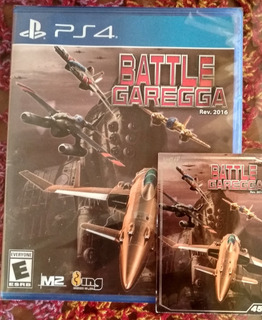 Battle Garegga - Ps4 - Nuevo Y Sellado.