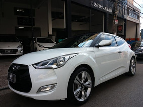Hyundai Veloster 1.6 16v 2013 3p Automático Branco Com Teto