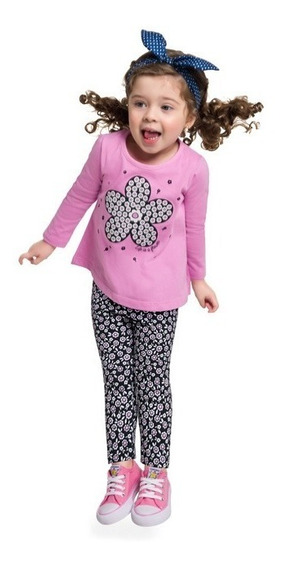 Conjunto Kyly Infantil Menina Cotton