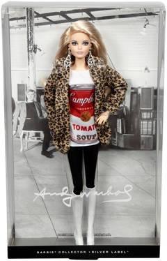 Barbie Colecionável Andy Warhol 2 - Mattel