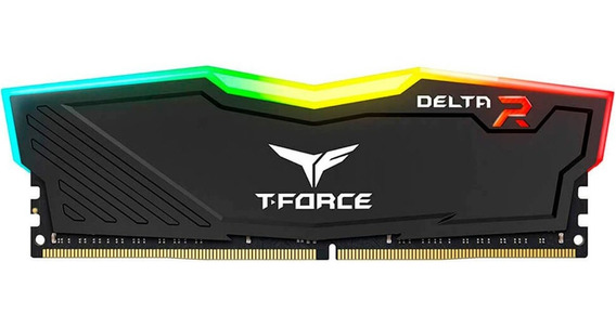 Memoria Ram 8gb Ddr4 Teamgroup T-force Delta Rgb 3200mhz