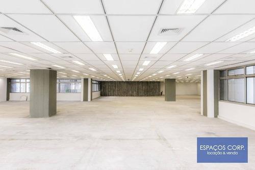Laje Corporativa Para Alugar, 1.885m² - Vila Nova Conceição - São Paulo/sp - Lj0705
