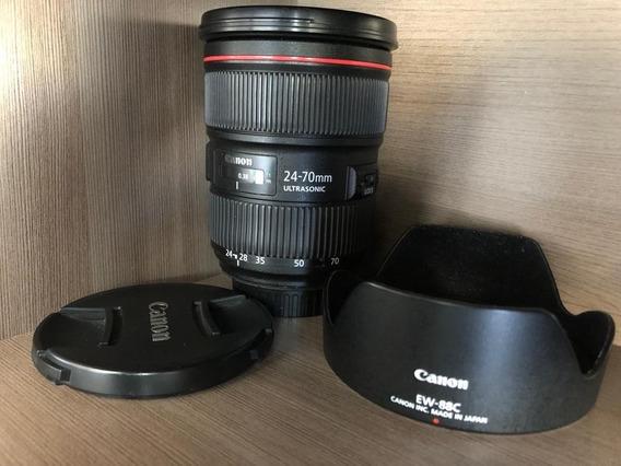 Lente Canon 24-70 2.8 Serie L Ii