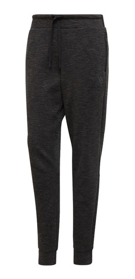 Pantalon adidas Id Melange Gri Oscuro De Mujer