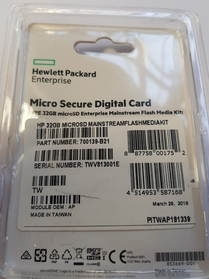 Hp 32gb Micro Sd Flash Media Kit Sd Memory Card