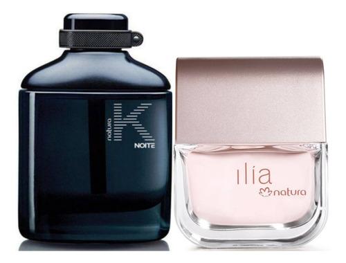 Perfume K Noite Hombre + Ilia Natura - mL a $884