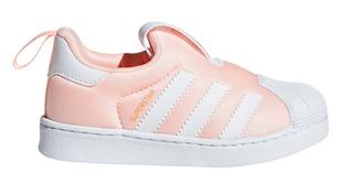 Zapatillas adidas Superstar Ros/bla De Bebes/niños
