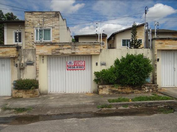 Casa Com 3 Dormitórios À Venda, 144 M² Por R$ 300.000,00 - Messejana - Fortaleza/ce - Ca1449