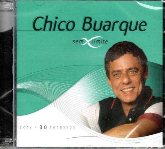 Cd Chico Buarque - Série Sem Limite Cd Duplo 30 Sucessos